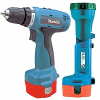 Дрель акк Makita 6271DWPLE + фонарь
