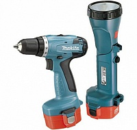Дрель акк Makita 6281DWPLE+фонарь